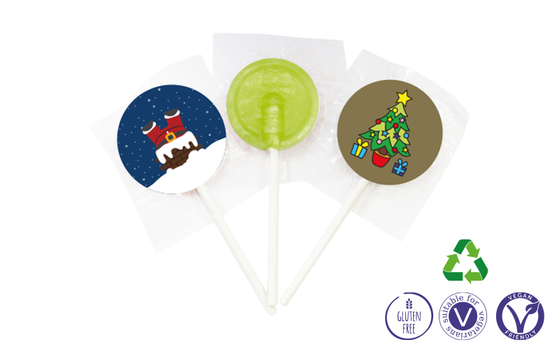 Mini Lollies – Christmas