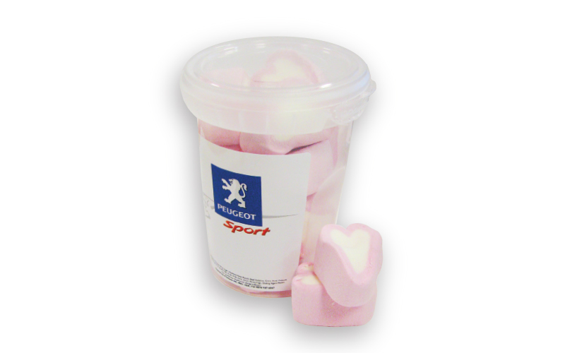 Tub of Mallow Hearts