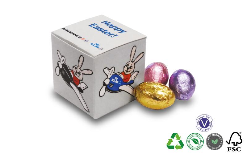 Cube of Mini Eggs