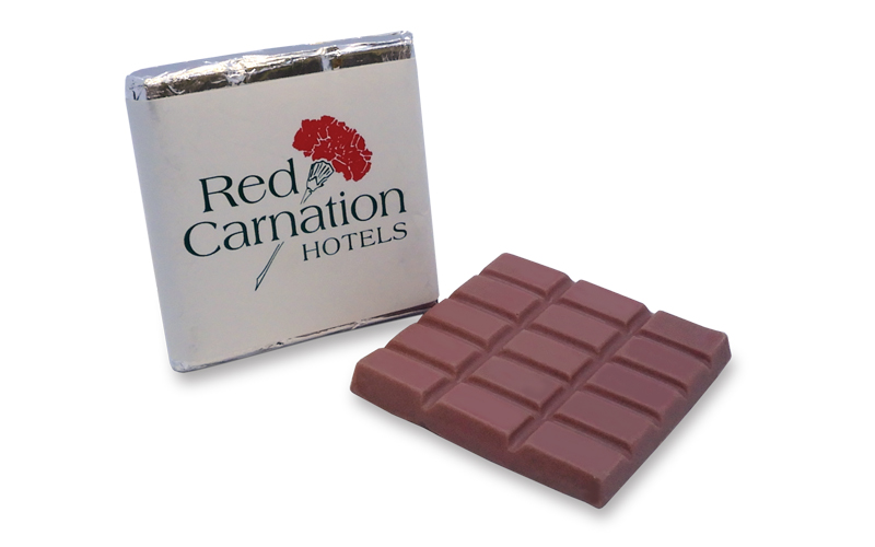 Square 40g Ruby Chocolate Bar