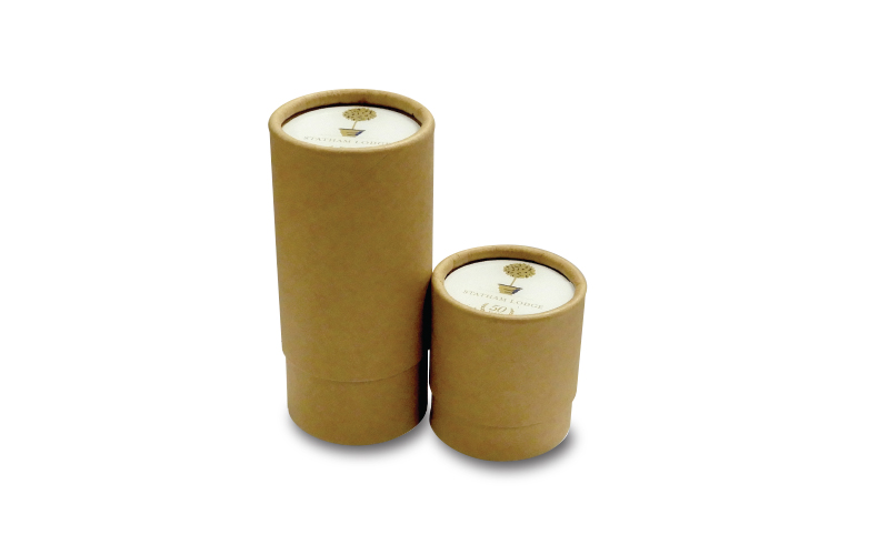 Brown Card Tubes