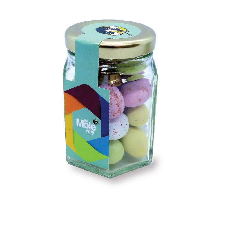 Mini Hex Jar