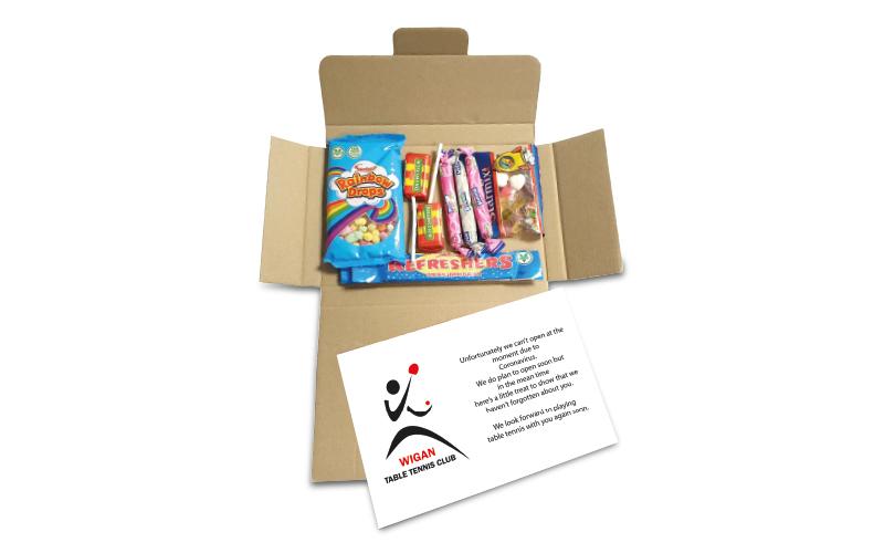 Postal Treat Box – Retro
